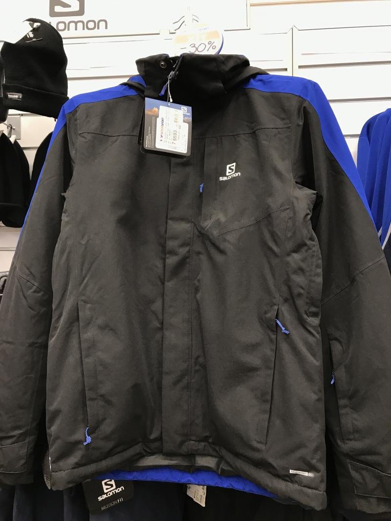 b997ca5f5179 Мужские лыжные куртки Salomon по супер цене купить со скидкой ...