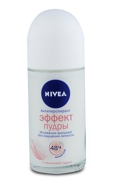 Кульковий дезодорант Nivea Ефект Пудри