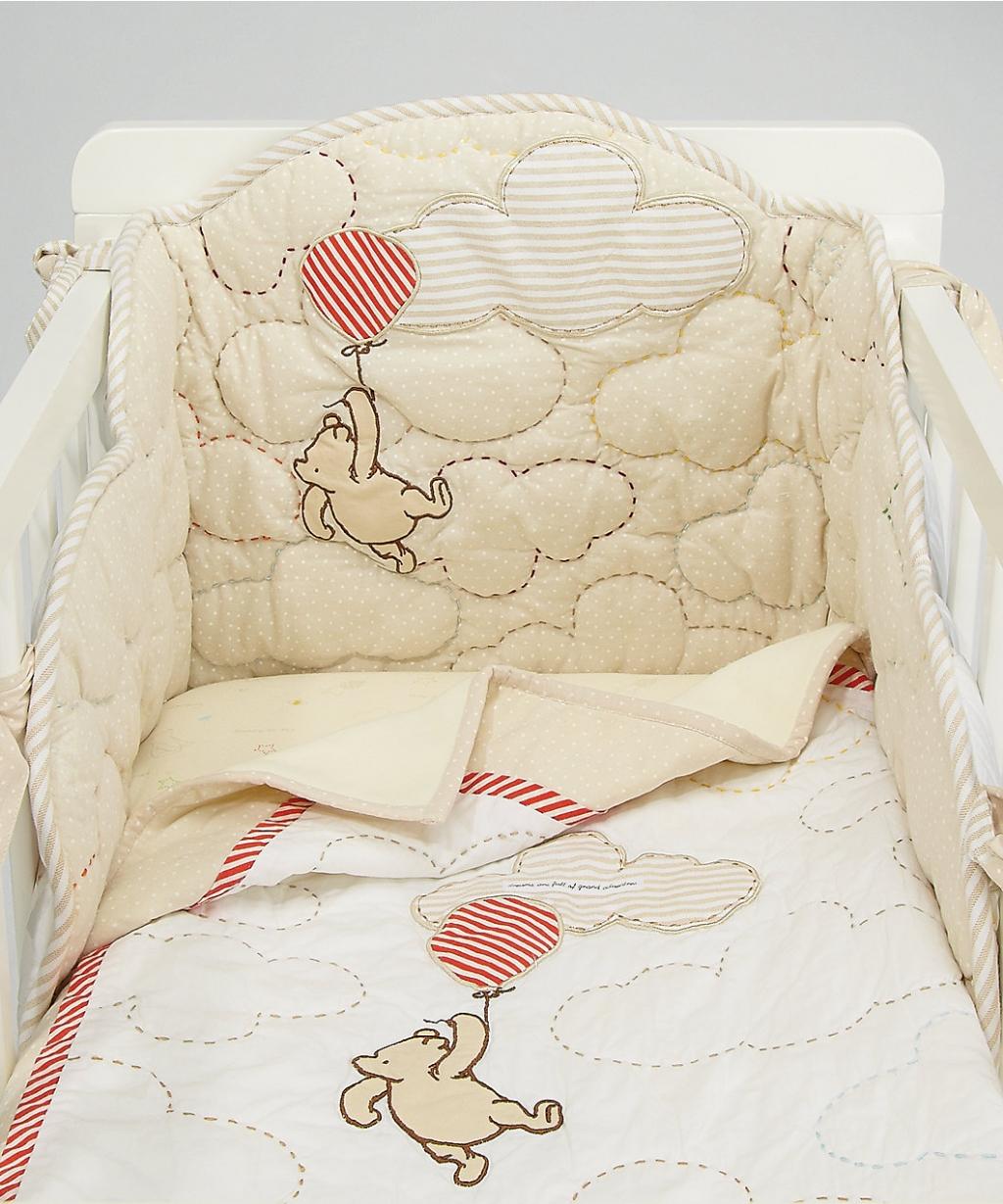 Комплект білизни для колиски Winnie The Pooh (Mothercare)