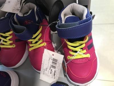 Розовые детские кроссовки Adidas по акции 918f618f13945