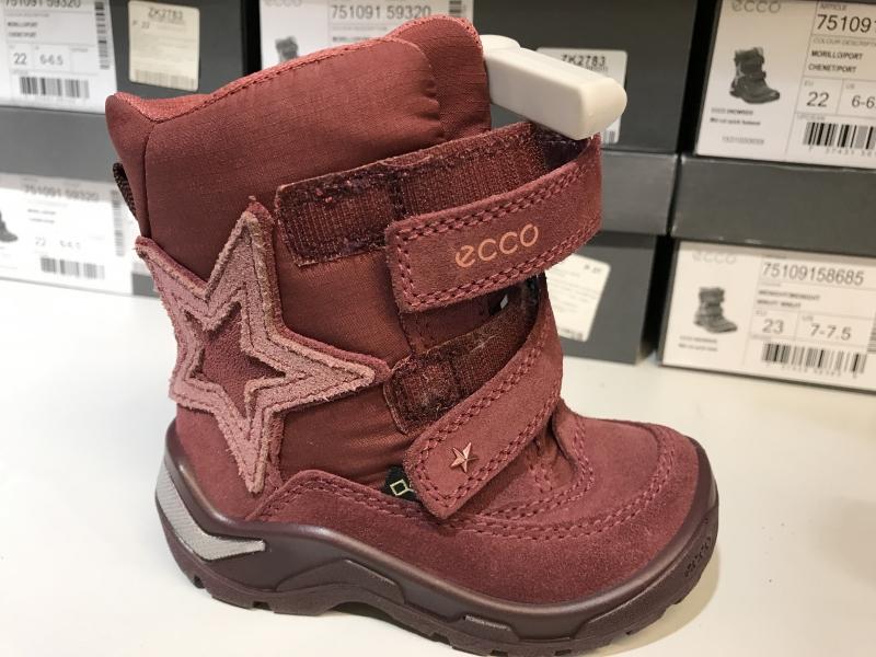 64355d224340 Скидка на детские ботинки ECCO зимние купить со скидкой   INTERTOP ...
