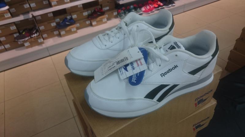 5e8da2cb15ba7f Белые мужские кроссовки Reebok по супер цене купить со скидкой ...