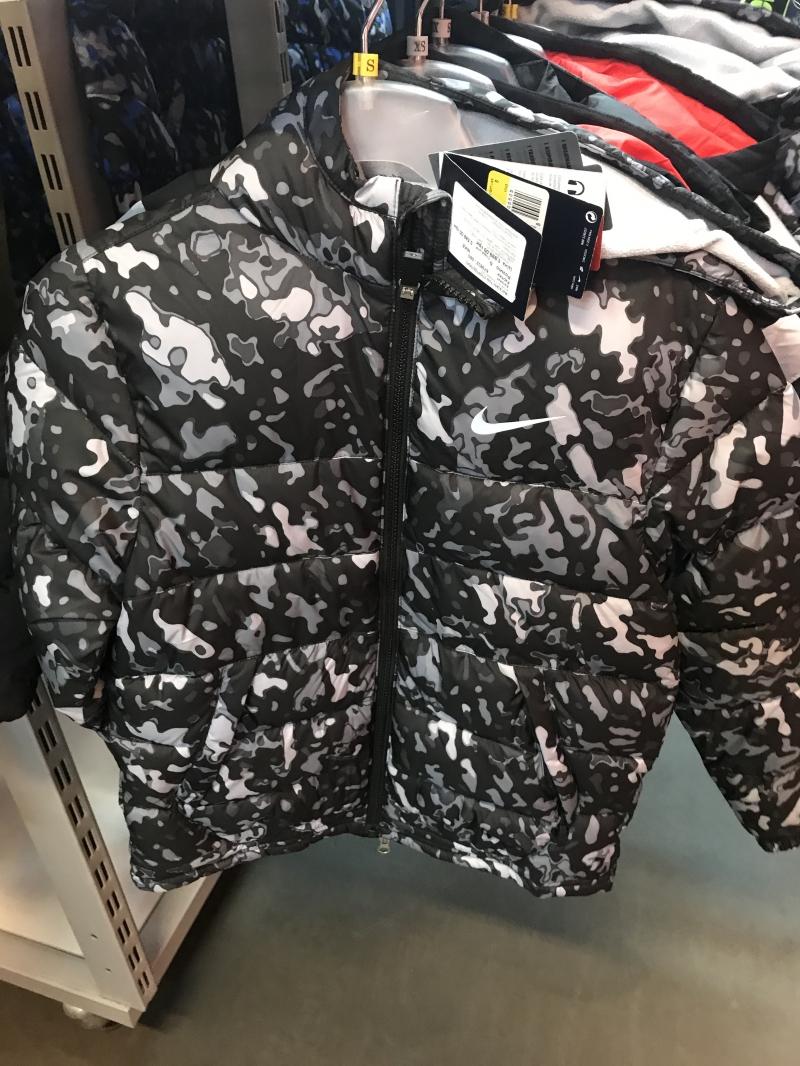 9e284f47 Детская куртка Nike по супер цене купить со скидкой / NIKE Дисконт ...