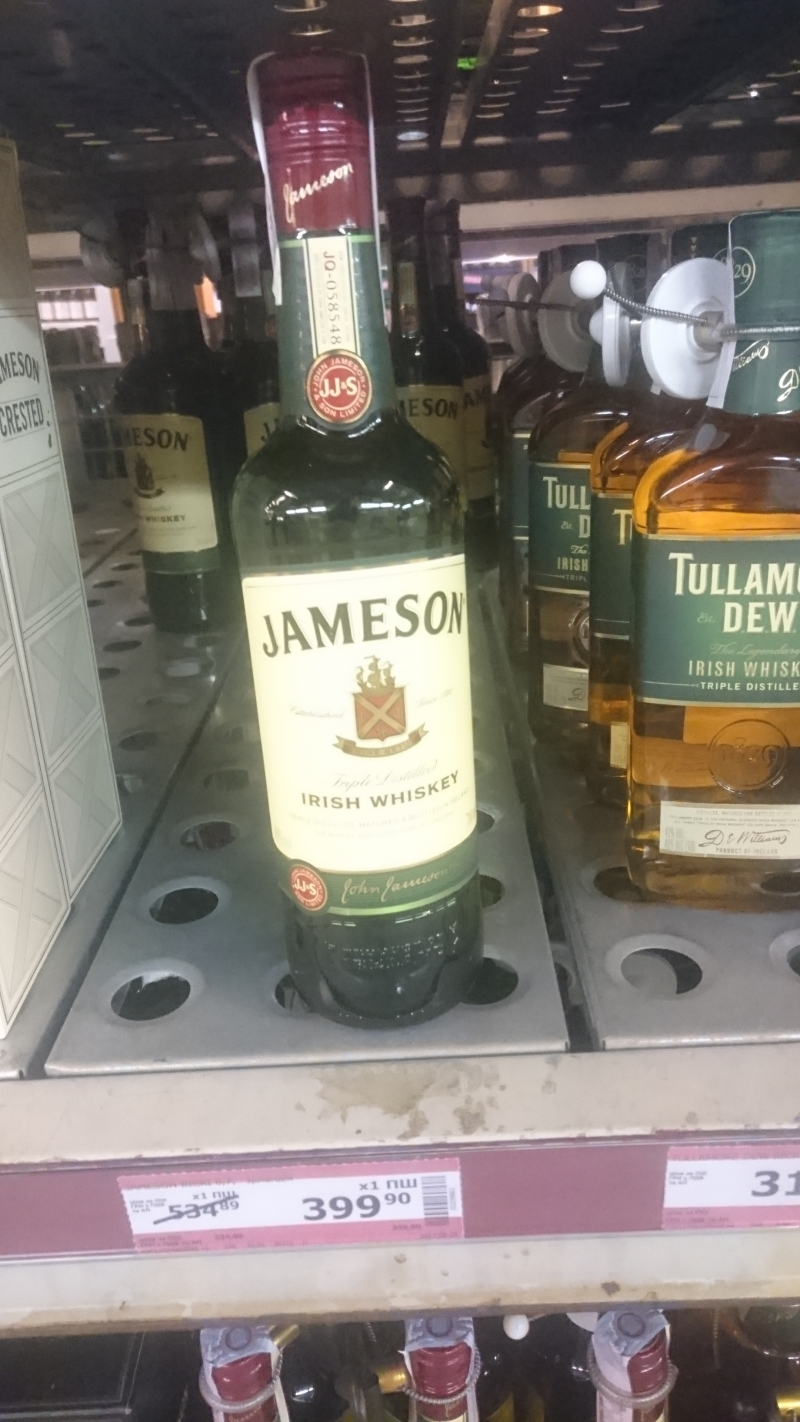 Виски Jameson со скидкой