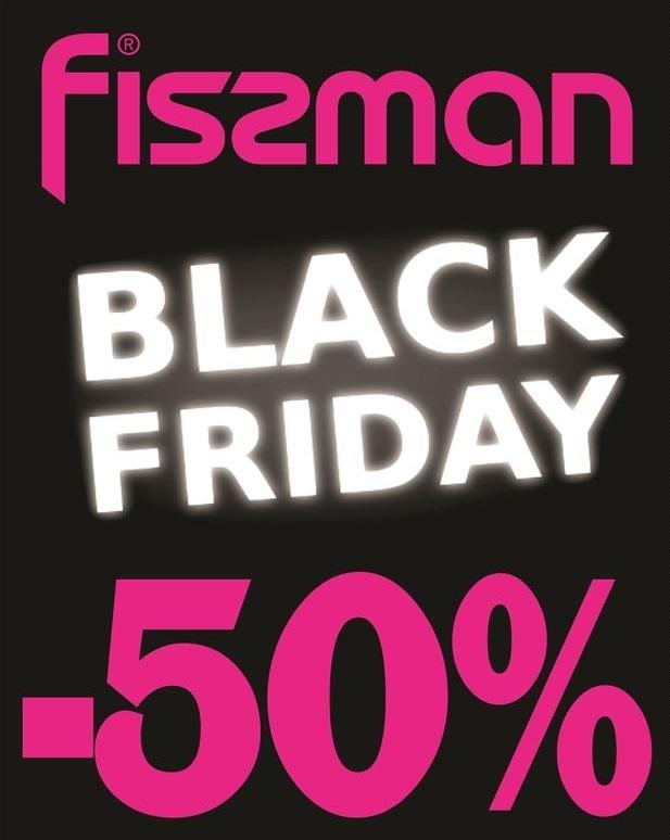 Черная пятница в Fissman: скидка 50% на посуду и товары для кухни!