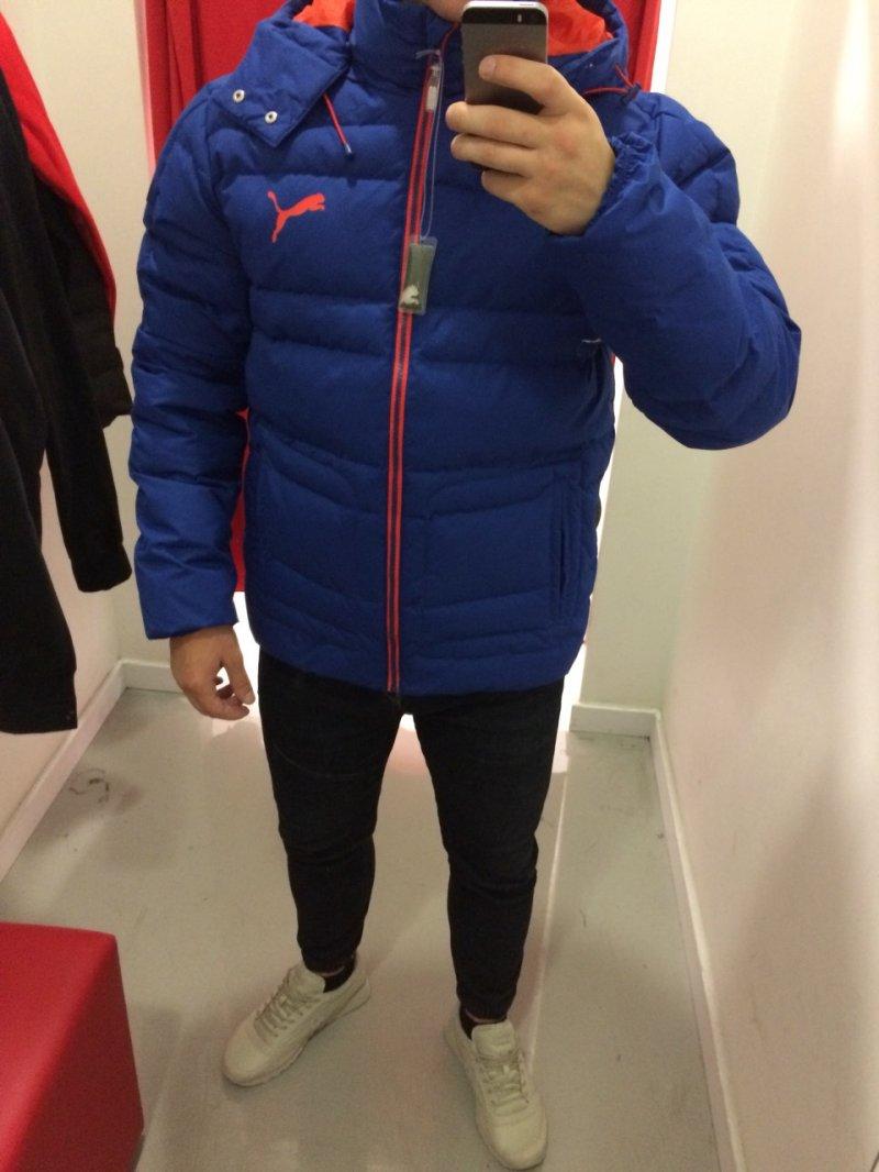 Зимняя куртка Puma по акции  скидка 40%! купить со скидкой   Плазма ... 6c5e34cb001