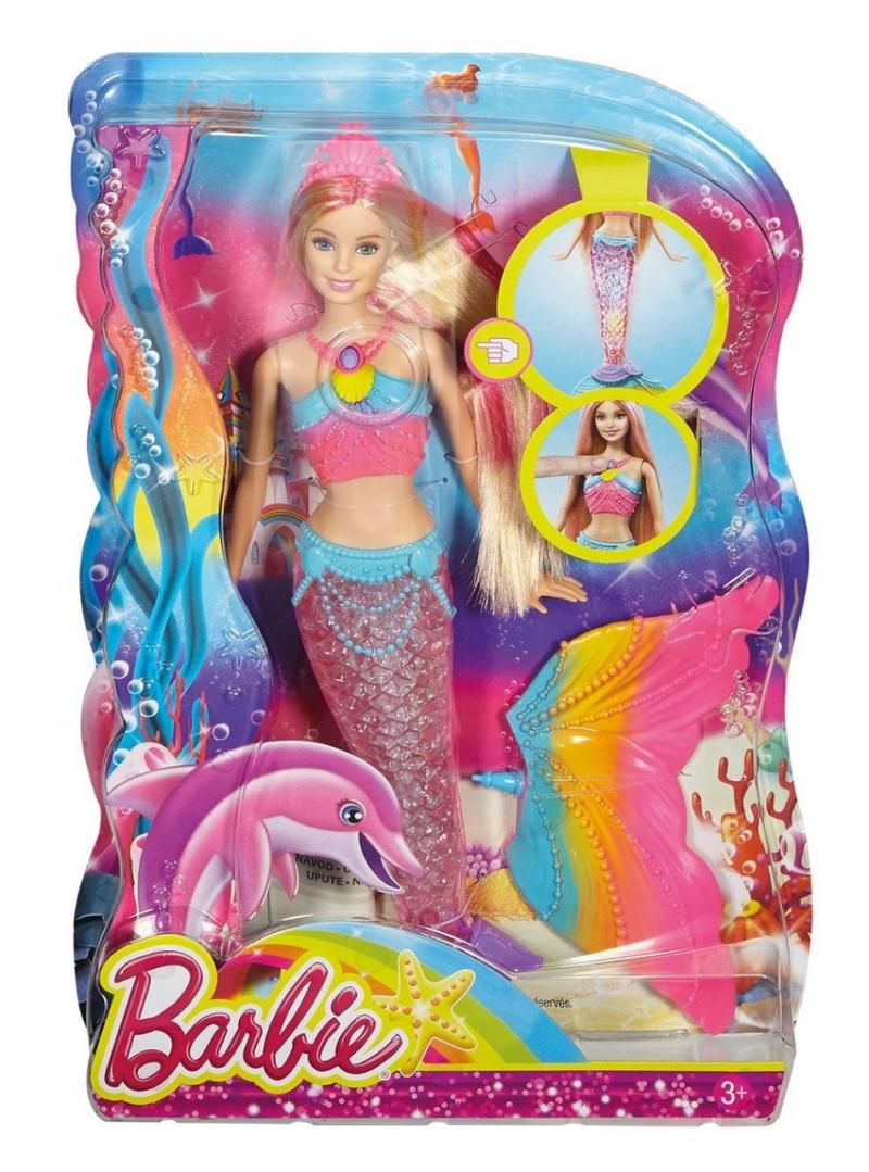 Кукла BARBIE Русалочка со скидкой
