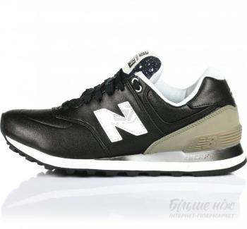 Кроссовки New Balance 574 р. 8 черный WL574RAA 816d9ad368875
