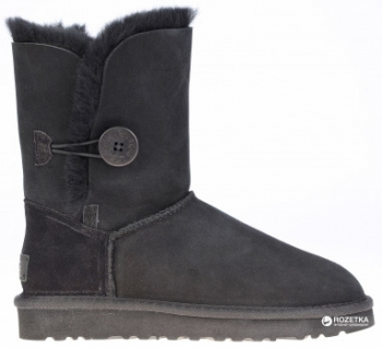 Угги UGG 1016226 Bailey Button II Black. 34% скидка ae9216cad0cf5