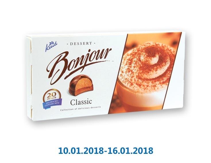 Десерт «Бонжур» классика ТМ «Конті» - 232 г