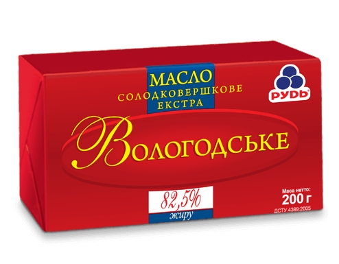 Масло Вологодское ТМ Рудь со скидкой