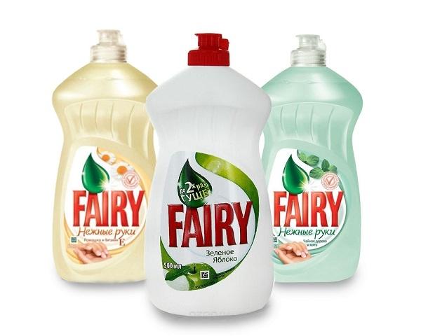 Моющее для посуды Fairy по низкой цене