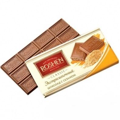 Скидка на шоколад ROSHEN в ассортименте