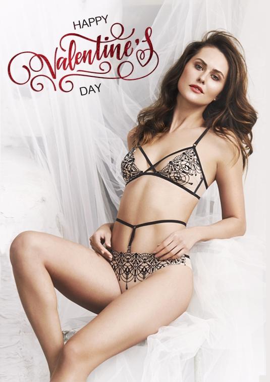 Скидка ко Дню Святого Валентина на женское белье Anabel Arto! купить ... 85727dac5765f