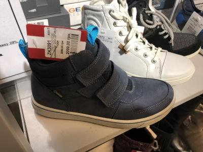 Ботинки ECCO для мальчика по сниженной цене. 30% скидка e72b9c9a627fa