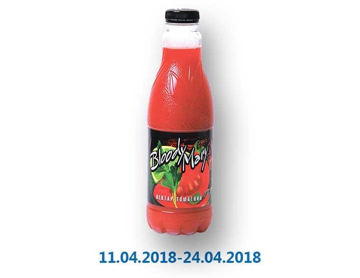 Нектар Bloody Mary, томатный ТМ «Біoла» - 1 л