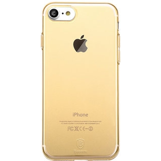 Baseus Simple Transparent Gold for iPhone 8/iPhone 7