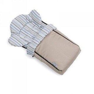 Спальный мешок Teutonia Mini Nest бежевый с рисунком (Mini Nest 3445)