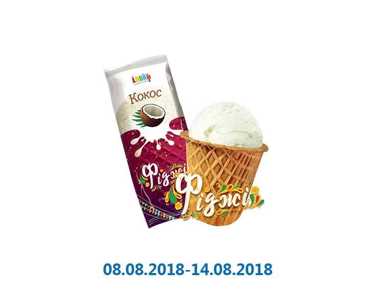 Мороженое «Фиджи» кокос ТМ «Laska» - 70 г