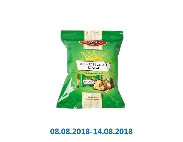 Конфеты «Королевский Шарм» с ореховой начинкой ТМ «АВК» - 113 г