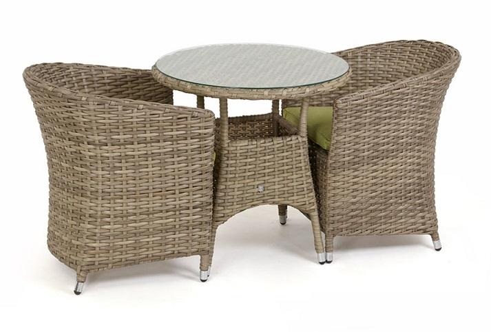 Распродажа садовой мебели из ротанга в МЕТРО
