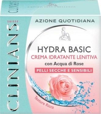 """Крем для чувствительной кожи увлажняющий защитный """"Роза и рисовый крохмал"""" (Clinians Hydra Sensitive Cream)"""