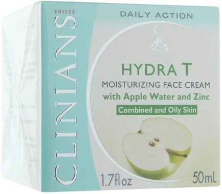 Крем-гель для лица (Clinians Crema Idratante Normalizzante)