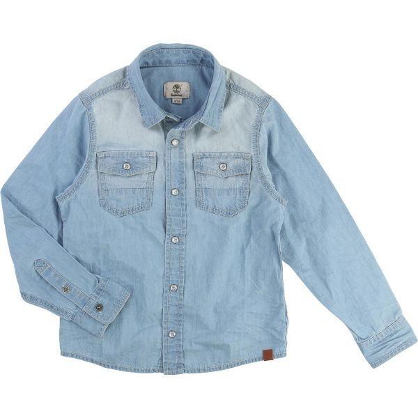 Timberland Kids Рубашка с длинным рукавом детские модель WT696