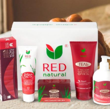 MakeUp дарит скидку на весь ассортимент Red Natural