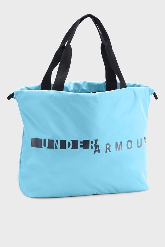 c8f52ff2ed75 Женская голубая сумка UA Favorite Graphic Tote Under Armour купить ...