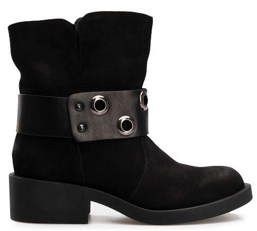 Ботинки женские Ботинки 7011/3253 Черный нубук 70113253-230