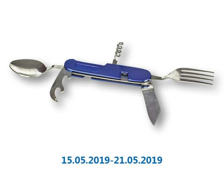 Нож* многофункциональный, карманный - 1 шт