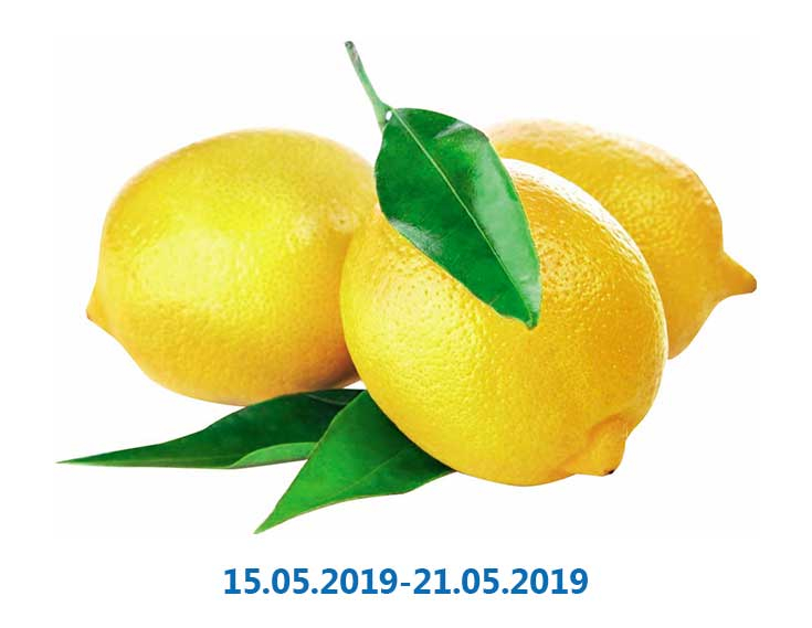 Лимон 1 сорт, - 1 кг