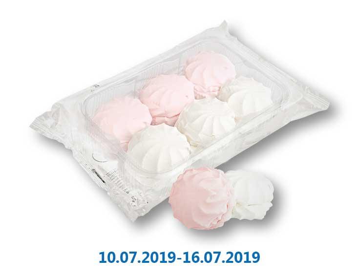 Зефир бело-розовый ТМ «Своя Лінія» - 300 г