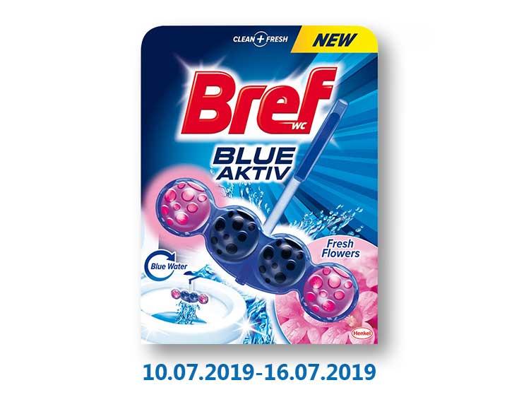 Средство для чистки унитаза Blue Activ в ассортименте ТМ «Bref» - 50 г