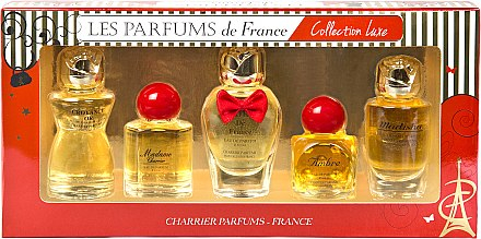 Charrier Parfums Collection Luxe (Набор (edp/9.4ml+edp/9.3ml+edp/12ml+edp/8.5ml+edp/9.5ml))