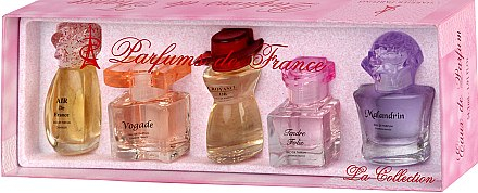 Charrier Parfums La Collection (Набор (edp/12ml+edp/11.5ml+edp/10.7ml+edp/9.8ml+edp/10.1ml))