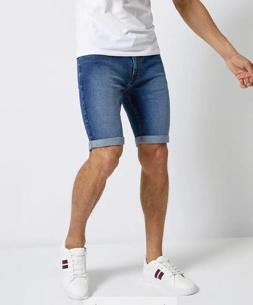 Мужские джинсовые шорты Burton Menswear London со скидкой 15%