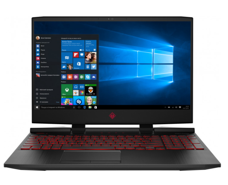 Ноутбук HP Omen 15-dc0028ur (4PR16EA) Black со скидкой 17%