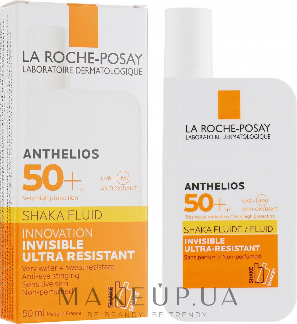 Солнцезащитный флюид ультралегкий (La Roche-Posay Anthelios SPF 50+ Shaka Fluid Ultra Resistant)