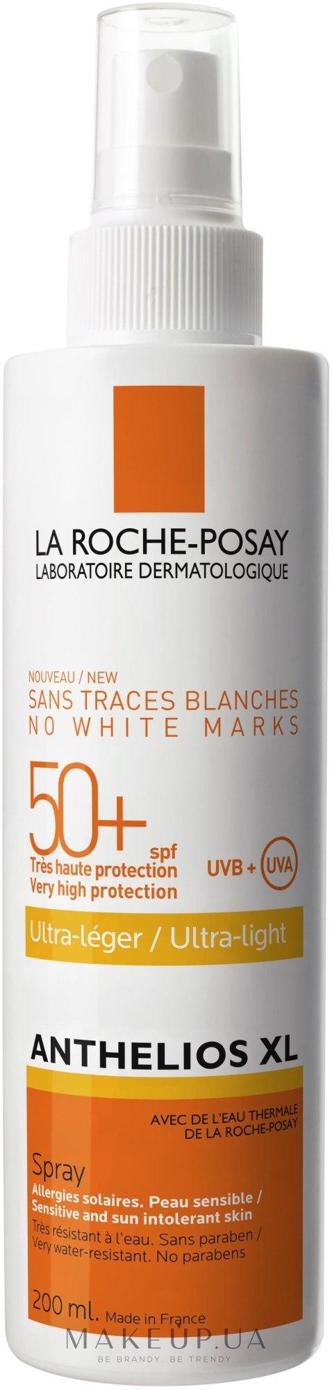 Солнцезащитное средство для лица и тела (La Roche-Posay Anthelios Xl Ultra-light SPF 50+)