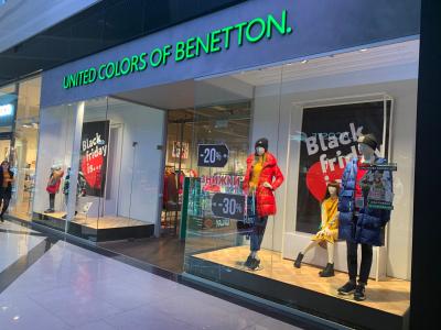 Долгожданная Black Friday в Benetton