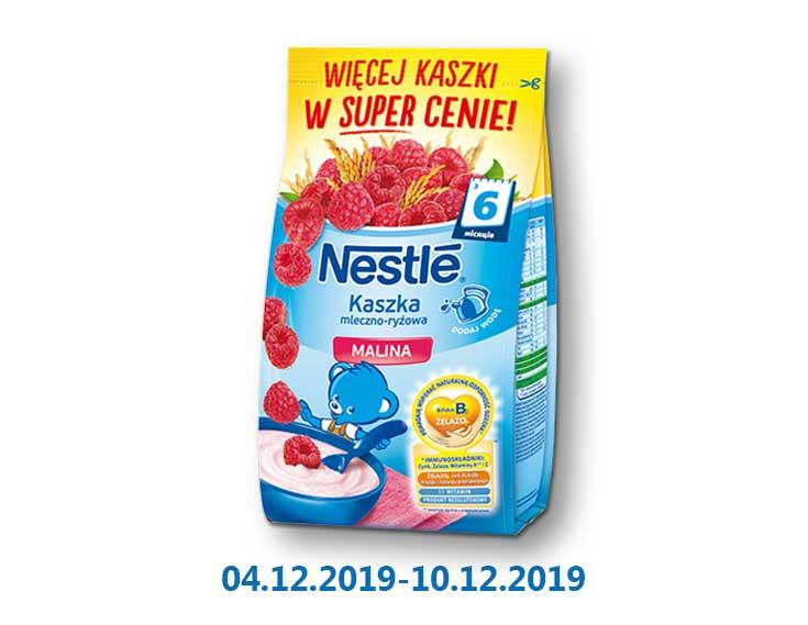 Кaшa молочная рисовая с малиной и бифидобактериями (пробиотиками), витаминизированная ТМ «Nestle» - 330 г