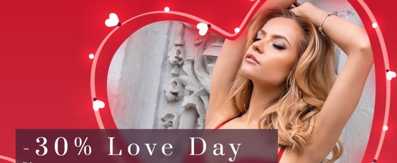 День влюбленных в магазине Intimo