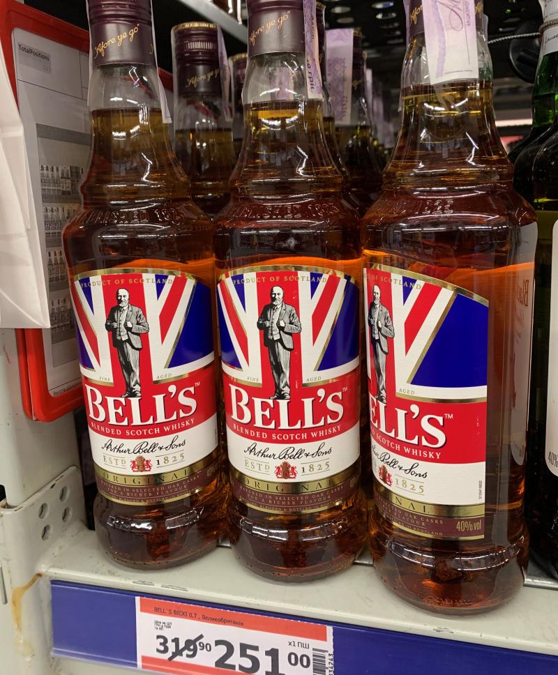 Виски Bell's Original по скидке в магазине Метро