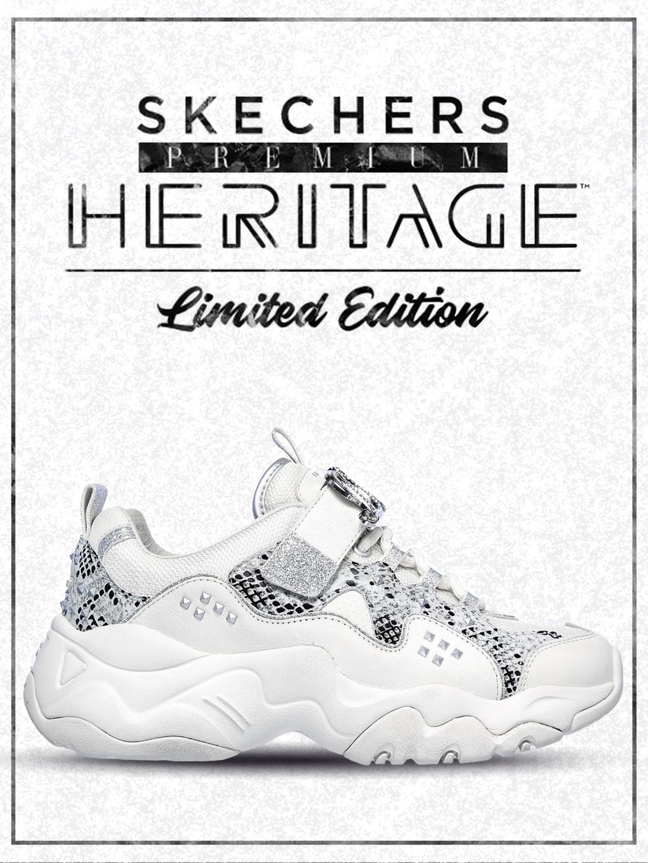 Кроссовки женские Skechers D'Lites Heritage 149110 NTSL