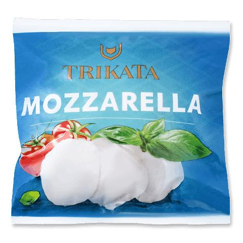Сир Trikata моцарела 45% з коров'ячого молока