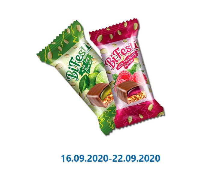 Конфеты «BiFesti», в ассортименте весовые ТМ «Лукас» - 1 кг