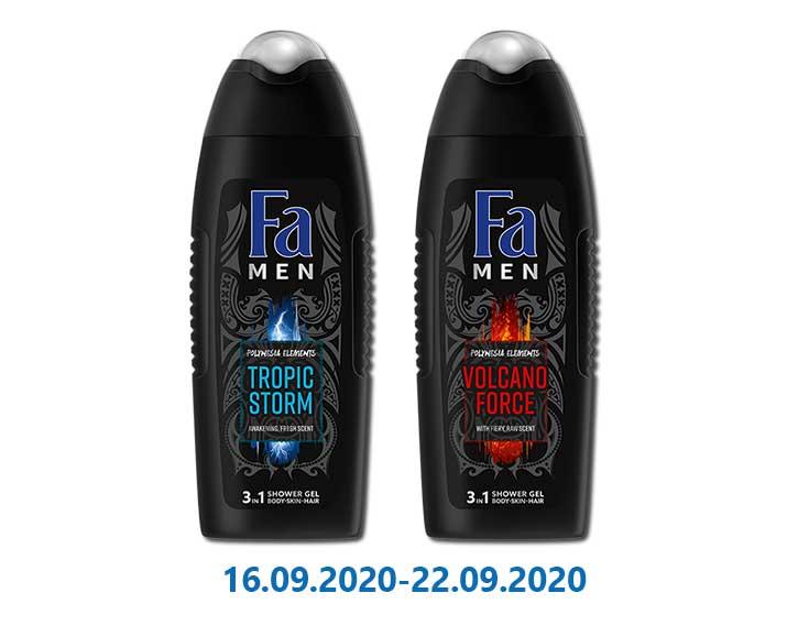 Гель для душа Volcano Foerce/Tropic Storm ТМ «Fa» - 250 мл