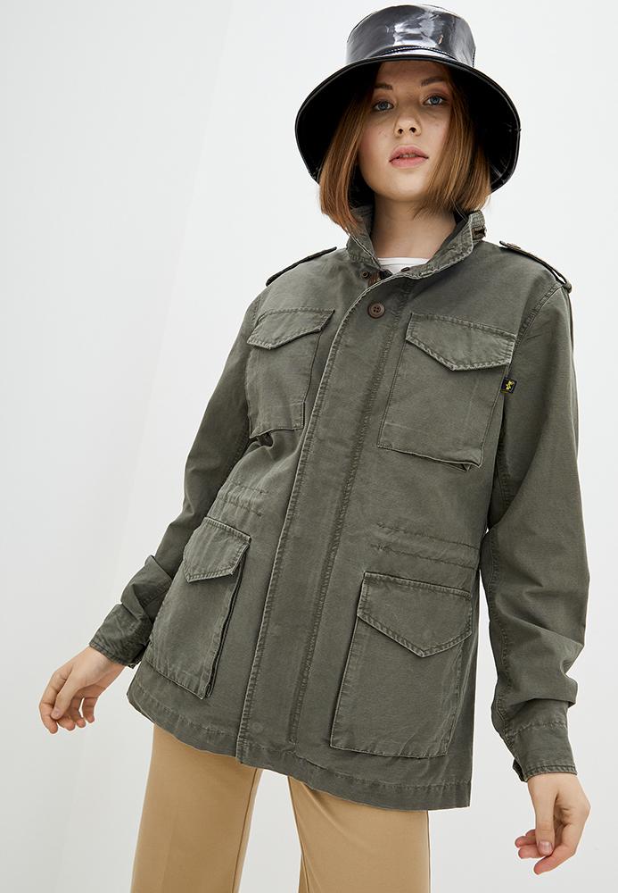 Куртка жіноча Alpha Industries модель WSCM651C1_olive